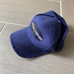 Autographed Sarah Fisher hat